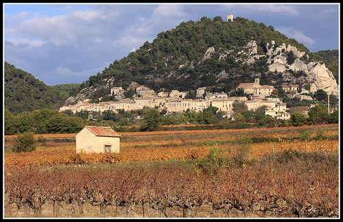 Le Village de Séguret et sa butte par Photo-Provence-Passion