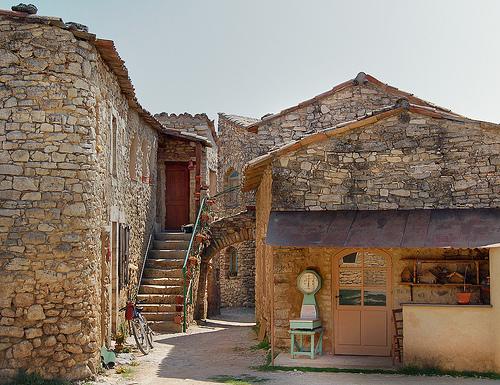 La balance - Basses-Courennes - Saint-Martin-de-Castillon by Charlottess