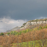 La falaise - Saint-Martin-de-Castillon par Charlottess - St. Martin de Castillon 84750 Vaucluse Provence France