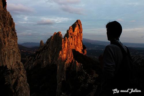 Randonnée au sommet des Dentelles de Montmirail par julienmadd