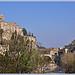 Haute ville et pont romain à Vaison-la-Romaine par Charlottess - Vaison la Romaine 84110 Vaucluse Provence France