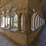 Vaison-la-Romaine - The cloister of the cathedral by  - Vaison la Romaine 84110 Vaucluse Provence France