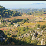 Plateau de Vaucluse depuis Venasque by Photo-Provence-Passion - Venasque 84210 Vaucluse Provence France