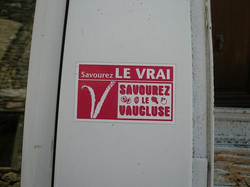 Vaucluse : Savourez le vrai ! by gab113