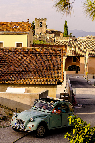 Vive la France en 2CV by Gilles 1972