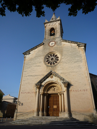 l'église de Villes sur Auzon by gab113
