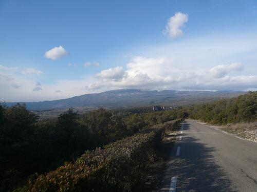 Sur la route vers le Mont-Ventoux par gab113