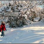 Provence avec de la neige, un conte de fées !!! par J@nine - Vitrolles 84240 Vaucluse Provence France