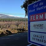 Col du Mont-Ventoux fermé aux voitures par gab113 - Bédoin 84410 Vaucluse Provence France