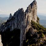 Dentelles Sarrasines : sculture de roche par sabinelacombe - Lafare 84190 Vaucluse Provence France