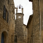 Lacoste : Stone street in Lacoste village by patrickd80 - Lacoste 84480 Vaucluse Provence France