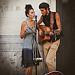Couple de musiciens - Festival d'Avignon 2016 par Rémi Avignon - Avignon 84000 Vaucluse Provence France