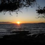 Coucher de soleil par Edeliades -   provence Provence France