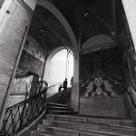 Escaliers à Nice, France par Califfoto - Nice 06000 Alpes-Maritimes Provence France