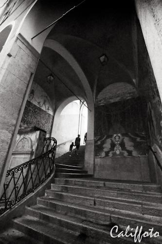 Escaliers à Nice, France by Califfoto