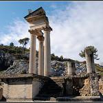 Temple de Glanum par strike13 - St. Rémy de Provence 13210 Bouches-du-Rhône Provence France