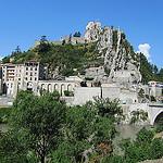Le rocher de Sisteron par Olivier Nade - Sisteron 04200 Alpes-de-Haute-Provence Provence France