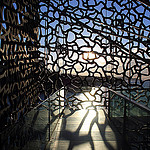 Puzzle de couché de soleil - MuCEM by maybeairline - Marseille 13000 Bouches-du-Rhône Provence France