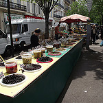 Only olives...Just olives at the market by ruebreteuil - Marseille 13000 Bouches-du-Rhône Provence France