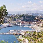 Port de Nice et arrière pays par Bomboclack - Nice 06000 Alpes-Maritimes Provence France