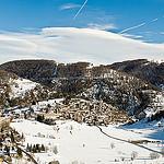 La station de Beuil en hiver par Bomboclack - Beuil 06470 Alpes-Maritimes Provence France