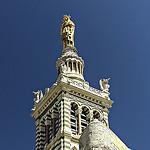 Notre Dame veille sur Marseille par mary maa - Marseille 13000 Bouches-du-Rhône Provence France