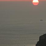 Soleil rouge au dessus des calanques de Cassis par feelnoxx - Cassis 13260 Bouches-du-Rhône Provence France