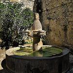 Fontaine de Séguret by de Provence et d'ailleurs - Séguret 84110 Vaucluse Provence France