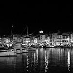 Nocturne dans le port de Cassis par feelnoxx - Cassis 13260 Bouches-du-Rhône Provence France