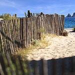 Les rochers des deux frères vue de la plage par Rodolphe Bonneau - La Seyne sur Mer 83500 Var Provence France
