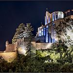 Sisteron de nuit - Haute Provence par cicay - Sisteron 04200 Alpes-de-Haute-Provence Provence France