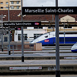 Gare de Marseille Saint-Charles - TGV Prêts au départ by stephanielowezanin - Marseille 13000 Bouches-du-Rhône Provence France