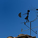 Mistral et girouette par piautel - Vaison la Romaine 84110 Vaucluse Provence France
