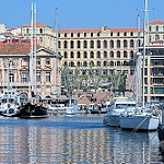 InterContinental Marseille - Hotel Dieu vue depuis le vieux port by F.G photographies - Marseille 13000 Bouches-du-Rhône Provence France