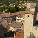 Bell tower at Malaucene, France by  - Malaucène 84340 Vaucluse Provence France