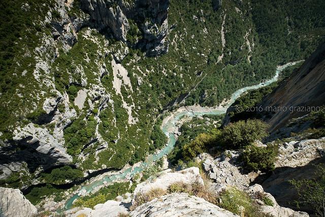 Les gorges du Verdon (provence - ville) by Mario Graziano