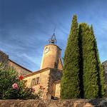 Eglise d'Ansouis par gomba - Ansouis 84240 Vaucluse Provence France