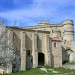 Château - Le Barroux by jean-louis zimmermann - Le Barroux 84330 Vaucluse Provence France