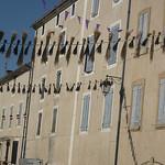 Sault : Lavender capital, lavender decorations par Andrew Findlater - Sault 84390 Vaucluse Provence France