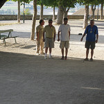 Pétanque in Sault - Provence by Andrew Findlater - Sault 84390 Vaucluse Provence France