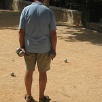 Saint Paul de Vence - pétanque par Andrew Findlater - Saint-Paul de Vence 06570 Alpes-Maritimes Provence France