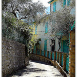 Ruelle fleurie à Coaraze by CHRIS230*** - Coaraze 06390 Alpes-Maritimes Provence France
