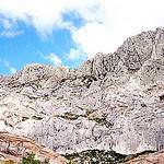 A favourite motif of Cézanne : Mont Sainte-Victoire par Truffle Jam - Aix-en-Provence 13100 Bouches-du-Rhône Provence France