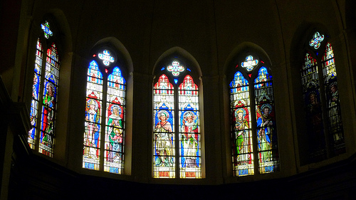 Vitraux d'église par jean-louis zimmermann