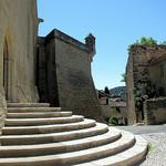 Marches du château d'Ansouis par Vins64 - Ansouis 84240 Vaucluse Provence France