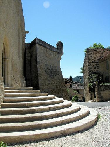 Marches du château d'Ansouis par Vins64
