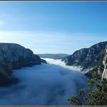Gorges du Verdon : Vol au dessus des nuages par philippe04 -   Vaucluse Provence France