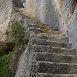 Fort du Buoux,Luberon. Rock steps. par debs-eye -   provence Provence France