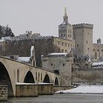 Avignon sous la neige (janvier 2010) par Hellevoet - Avignon 84000 Vaucluse Provence France