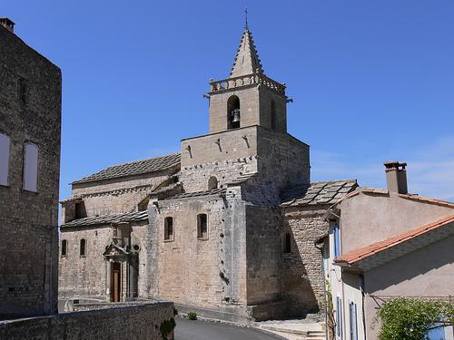 Eglise de Venasque (Vaucluse) par jean25420